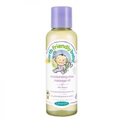 Lansinoh Earth Friendly Baby hidratáló shea masszázsolaj 125 ml