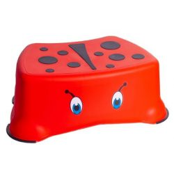 My Little Step Stool-Ladybird